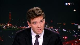 France's Industrial Recovery Minister Arnaud Montebourg