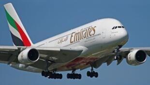 ក្រុមហ៊ុនអាកាសចរណ៍ Emirates Airline ដែលជាក្រុមហ៊ុនអាកាសចរណ៍លំដាប់ពិភពលោកមួយ