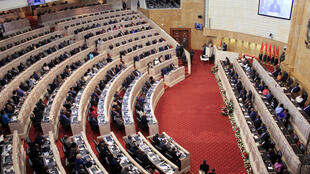Abertura da 2ª sessão legislativa da IV legislatura na Assembleia Nacional angolana