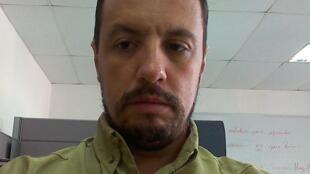 Um dos líderes do MST na Venezuela, Denir Sosa.
