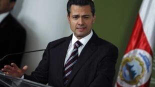 Shugaban kasar Mexico Peña Nieto