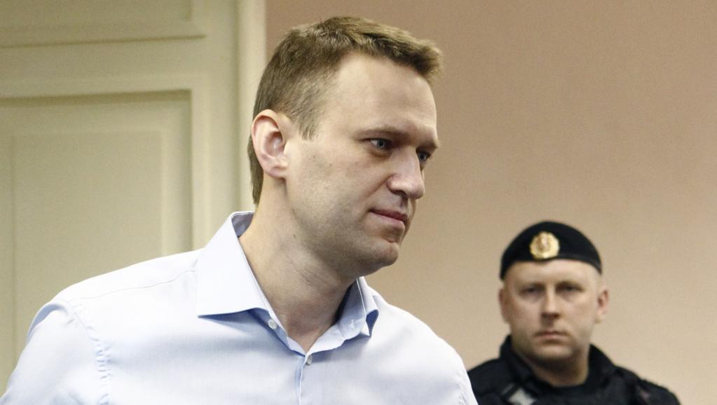 Алексей Навальный в суде 24/04/2013 (архив)