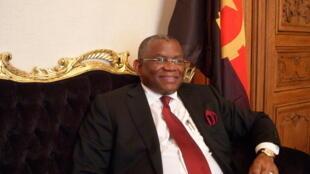 Georges Chikoti, chefe   da diplomacia  angolana