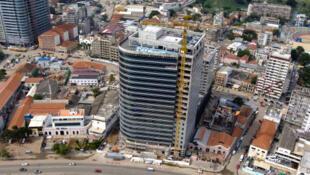 Une vue aérienne de Luanda, la capitale angolaise.