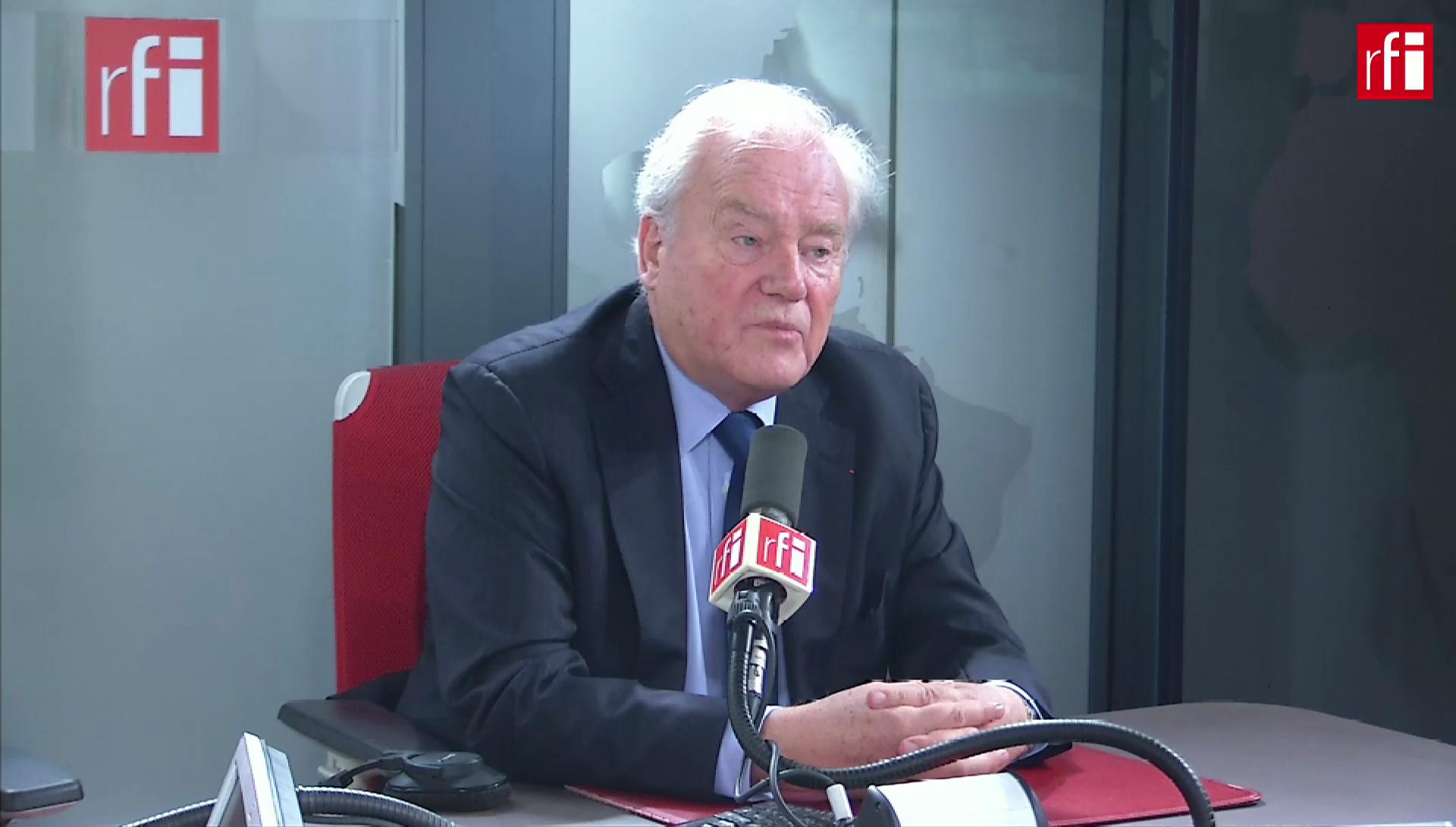 Christian Cambon sur RFI le 27 novembre 2019.