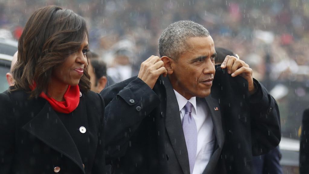 Baada ya India, Barack Obama, hapa akiwa New Delhi, anajielekeza Riyadh kwa ajili ya mazungumzo mafupi na mfalme Salman.