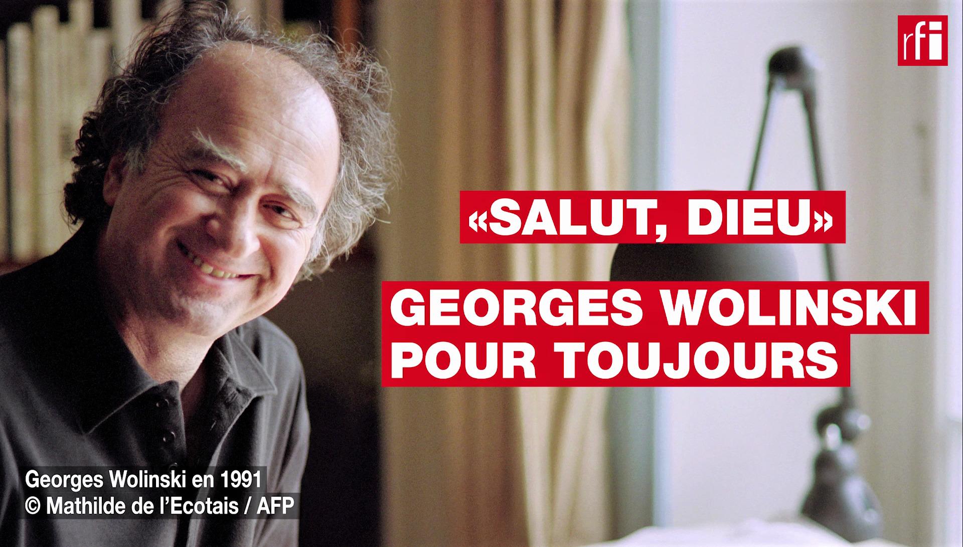 Georges Wolinski en 1991 © Mathilde de l'Ecotais / AFP