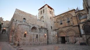 Iglesia del Santo Sepulcro en Jerusalén.