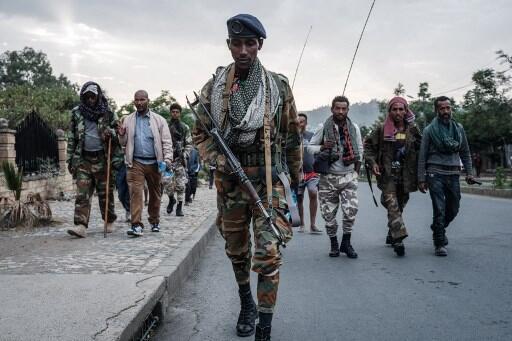 Image RFI Archive / Éthiopie: la guerre du Tigré menace de s'étendre à d'autres régions du pays. Ici, des soldats des Forces de défense du Tigré (TDF) à Mekele. (Photo d'illustration).