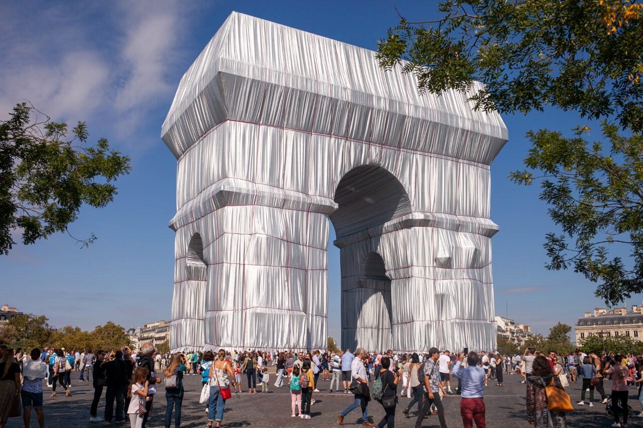 Arc de Triomphe - Christo