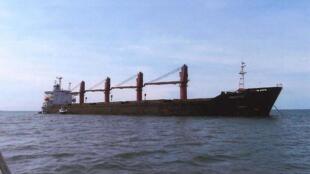 Le bateau de 17 061 tonnes nommé «Wise Honest» est l'un des vraquiers les plus importants de la flotte nord-coréenne.