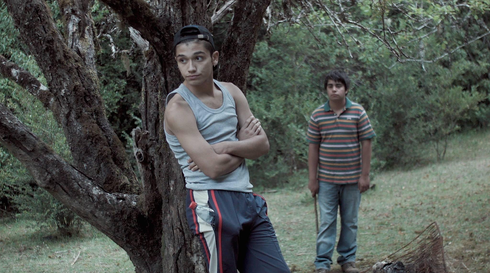 Los dos personajes de la película 'Mala junta': Tano (Andrew Bargsted, izq.) y Cheo (Eliseo Fernández, der.).