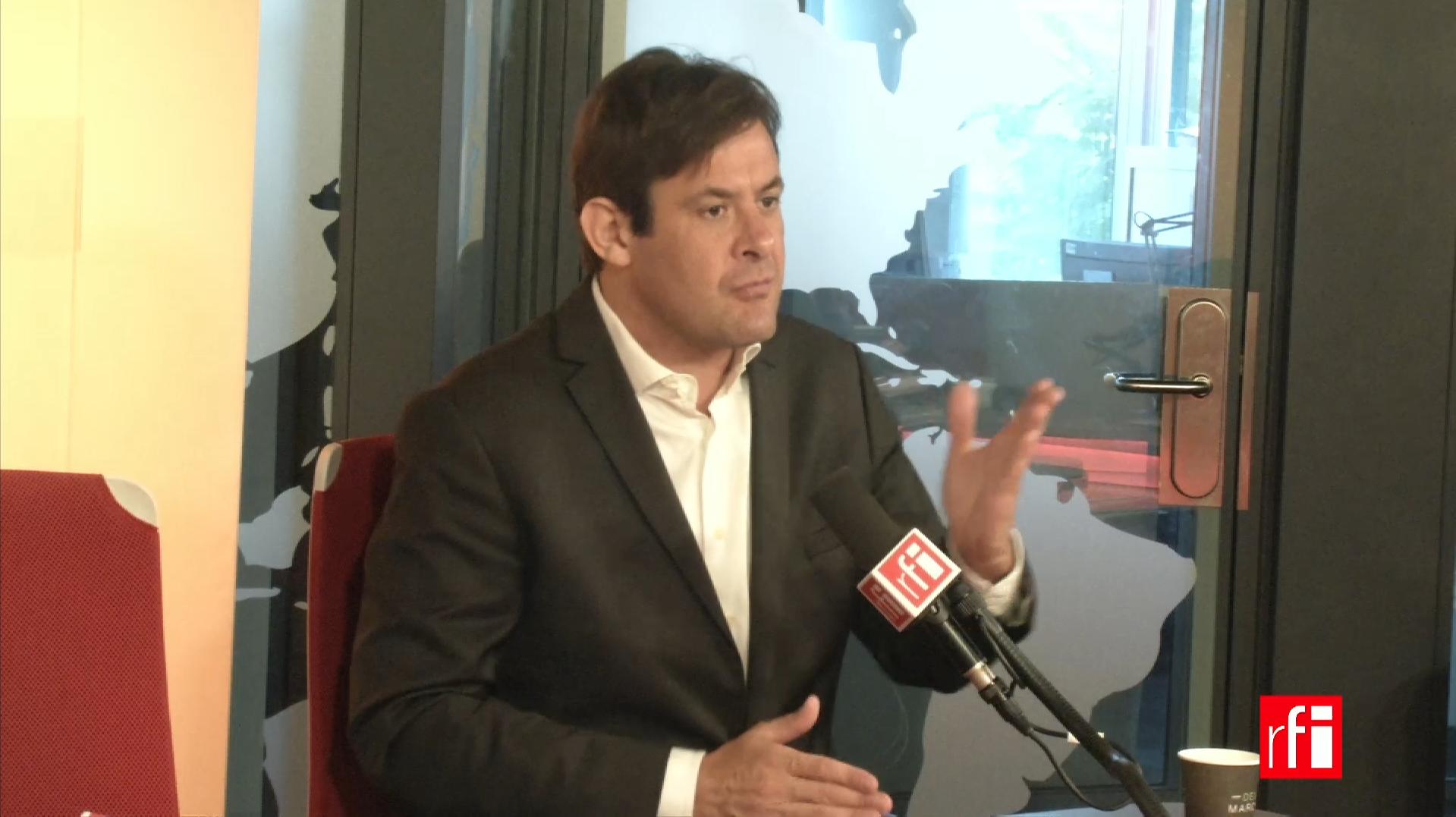 François Kalfon sur RFI le 31 juillet 2017.