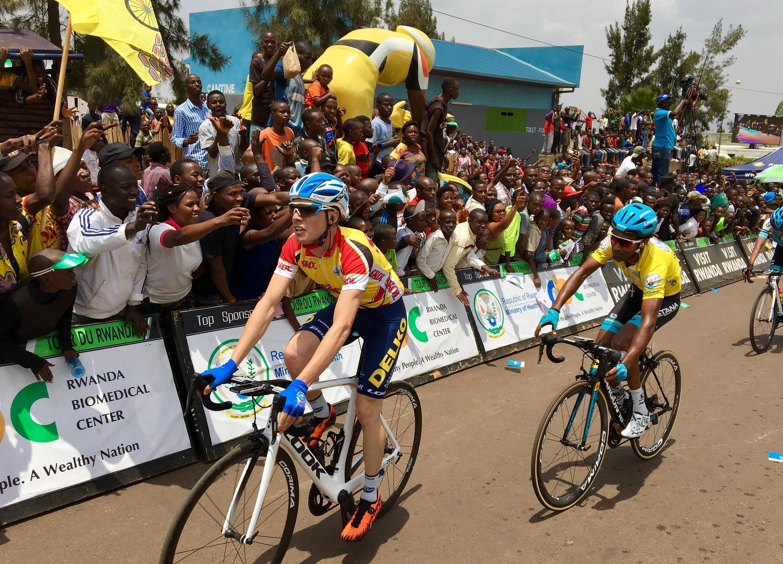Finalement, Merhawi Kudus assure et conserve son maillot jaune pour 10'' devant Rein Taaramäe. Carton plein pour Astana puisque c'est le Colombien Rodrigo Contreras Pinzon qui remporte l'étape.