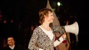A candidata da coalizão de centro-esquerda Carolina Tohá foi eleita prefeita da capital Santiago neste domingo.