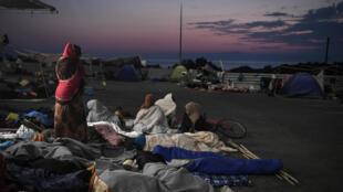 پناهجویان جزیره لسبوس در یونان