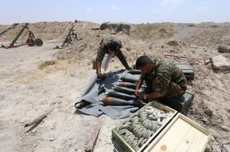 Wapiganaji wa kundi la Syria Democratic Forces (SDF) katika jimbo la Raqqa, nchini Syria.