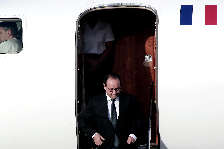 O Presidente François Hollande é esperado esta quarta-feira, 24 de Fevereiro, na Argentina