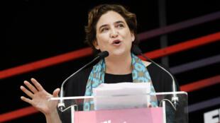 Ada Colau, maire de Barcelone, le 11 juin 2016.