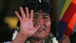 Le président bolivien Evo Morales le 4 juillet 2013.
