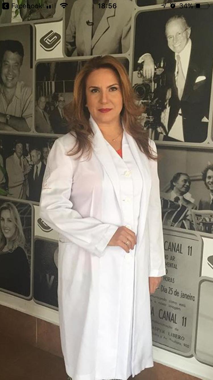 A professora de Ginecologia da Faculdade de Medicina da USP (Universidade de São Paulo), Patricia Gonçalves.