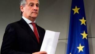 Antonio Tajani.