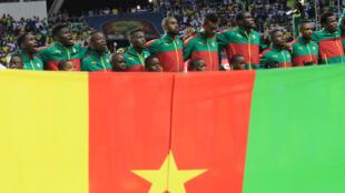 L'équipe du Cameroun à la CAN 2017.
