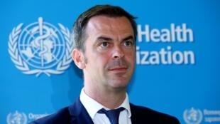 Olivier Véran, ministro da  Saúde de França