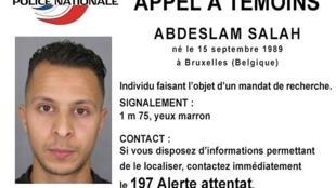 O francês Abdeslam Salah, de 26 anos, é procurado pela polícia de toda a Europa.
