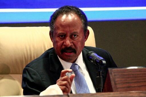 Le Premier ministre soudanais Abdallah Hamdok, le 5 septembre à Khartoum.