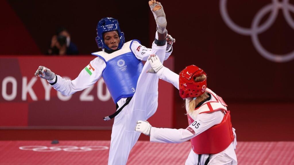 Tokyo 2021: la Nigérienne Tekiath Ben Yessouf si poche du bronze en taekwondo
