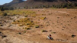 Rali todo-o-terreno África Eco Race. Imagem de Arquivo.