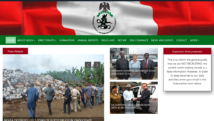 Le NDLEA lutte contre la drogue au Nigeria en intervenant sur le terrain.