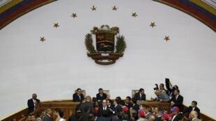 Tribunal Supremo de Justicia (TSJ) de Venezuela tras la declaraciónd e nulidad de los diputados