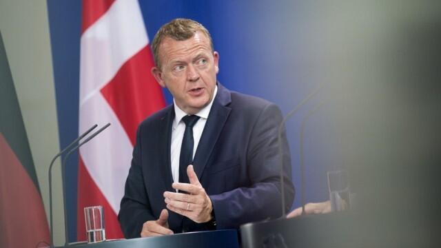 نخست وزیر دانمارک Lars Løkke Rasmussen.