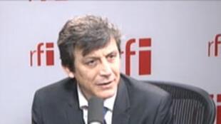 David Assouline, porte-parole du Parti socialiste et sénateur PS de Paris.