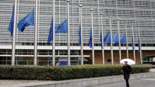Trụ sở Ủy Ban Châu Âu tại Bruxelles, Bỉ, 28/03/2018.