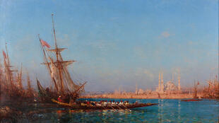 «View of İstanbul», tableau de Felix Ziem.