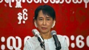 Aung San Suu Kyi à Rangoon le 2 août 2011.