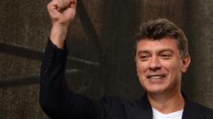 L'ancien vice-Premier ministre russe, Boris Nemtsov, septmebre 2012.