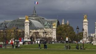 Toàn cảnh Grand Palais tại Paris. Ảnh chụp ngày 01/11/2012.