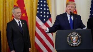 中美签署第一阶段贸易协定