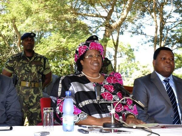 Rais wa Malawi Joyce Banda
