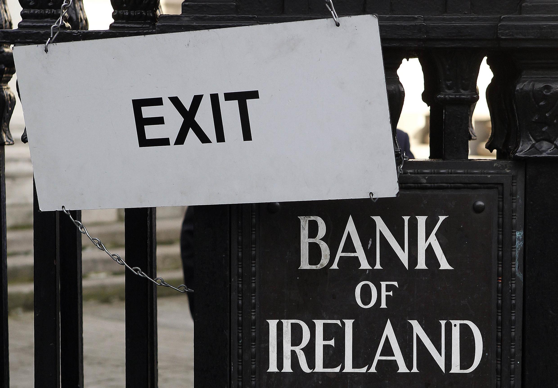 A Irlanda atravessa uma das piores crises dos últimos 70 anos.