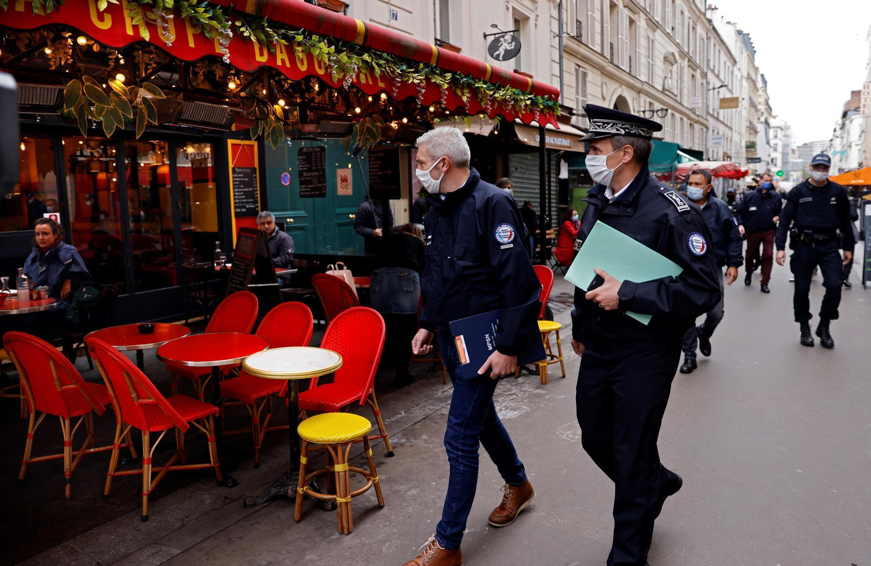 2020-10-28 france coronavirus covid-19 curfew lockdown paris