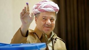 مسعود بارزانی، رهبر حزب دمکرات اقلیم کردستان عراق