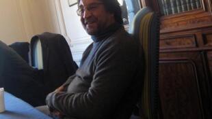 Юрий Шевчук на встрече с французскими журналистами в Париже 13 декабря 2010 г.