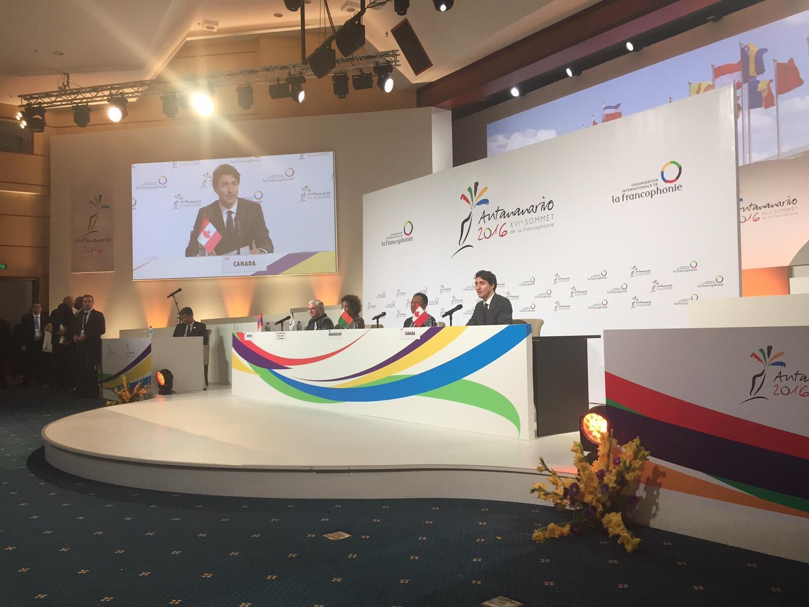 Les 20 chefs d'Etat et de gouvernement présents à Antananarivo ont désigné l'Arménie pour accueillir le prochain sommet de 2018.