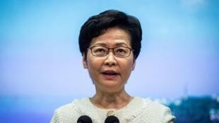 США ввели санкции против главы администрации Гонконга Кэрри Лам