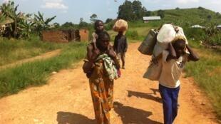 Buleusa, une région régulièrement agitée de tensions entre communautés et dont les habitants doivent fuir les combats.